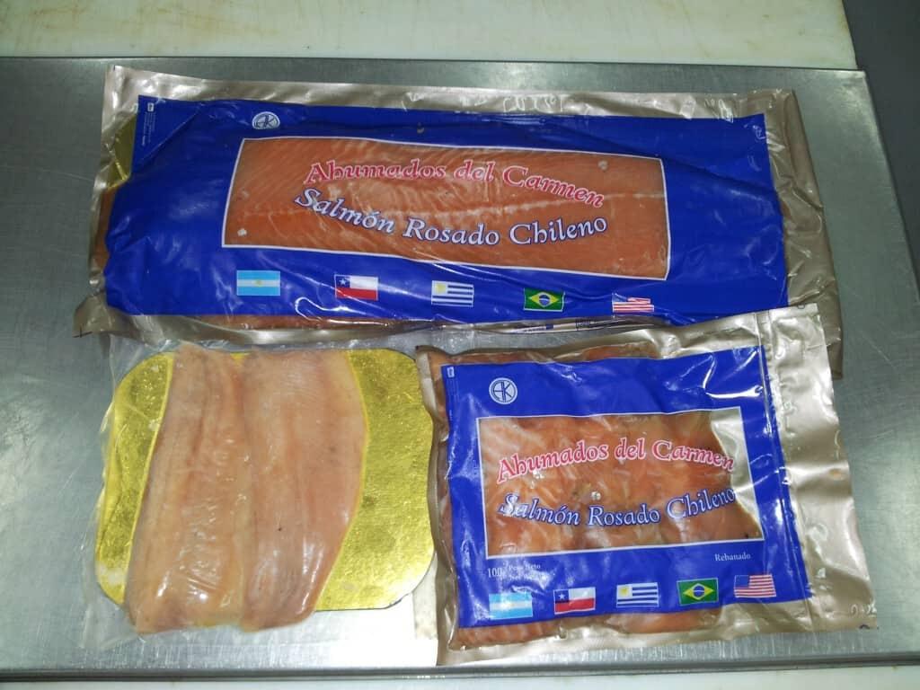 Salmon y trucha ahumada
