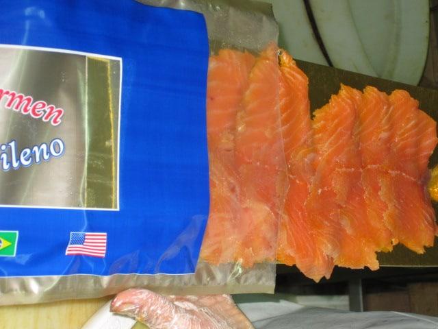 Salmon Ahumado Feteado
