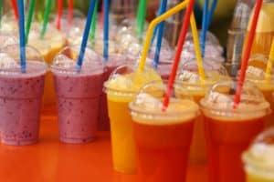 shakes de frutas