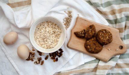 galletitas caseras de avena y chocolate