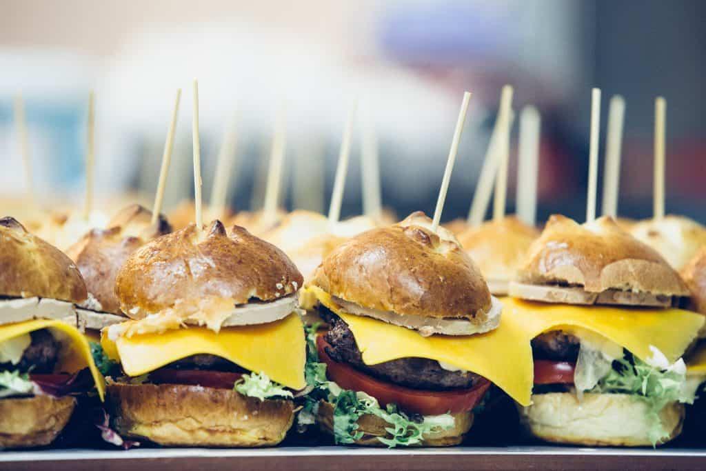 mini hamburguesas para niños