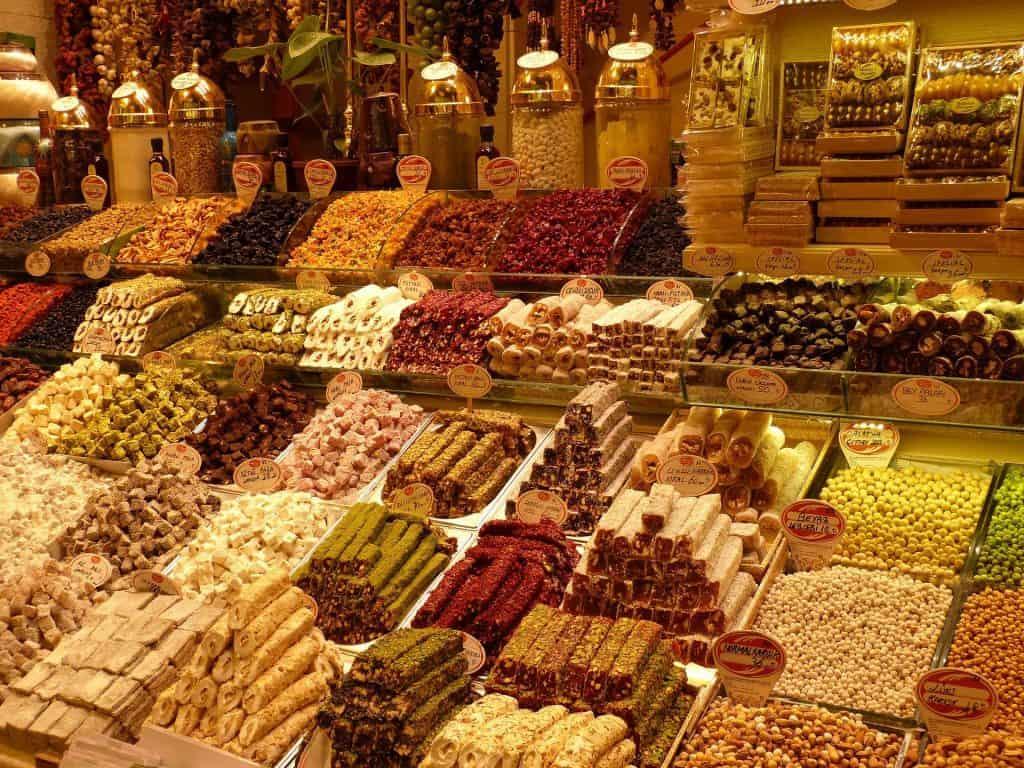 Mercado gastronómico turquía