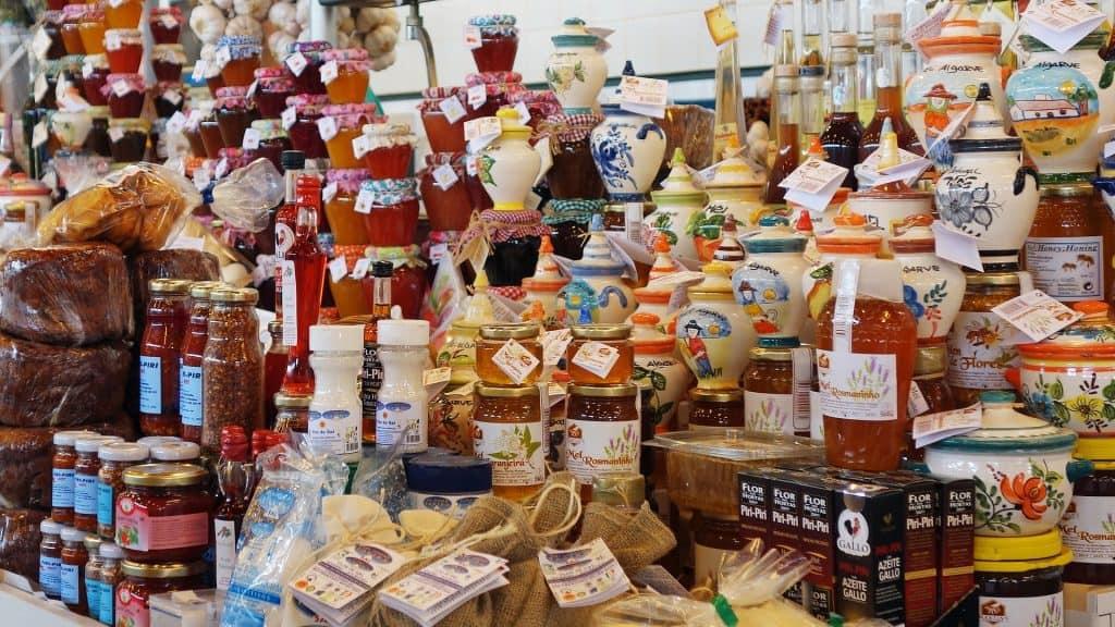 Mercado gastronómico Portugal