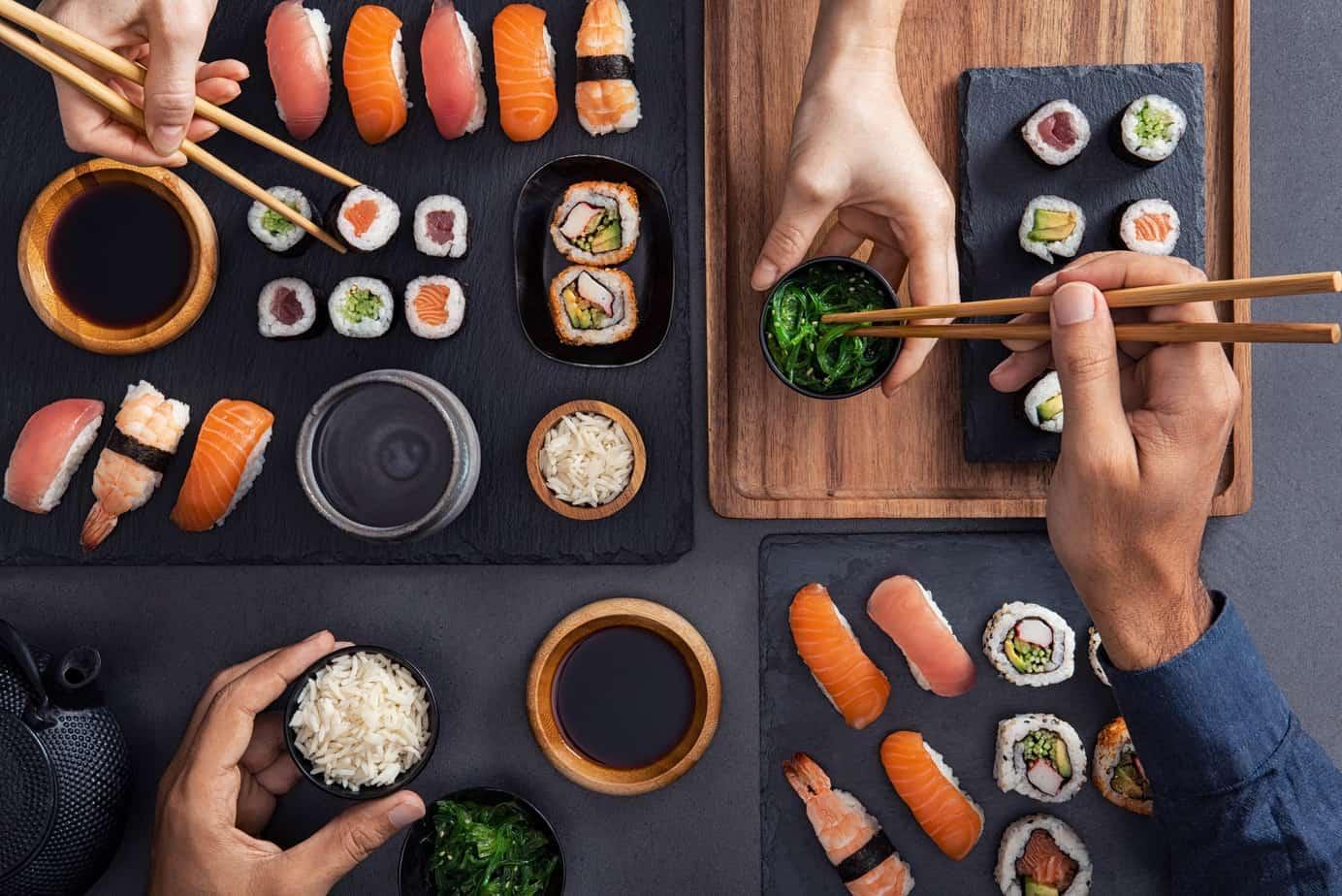 cultura del sushi