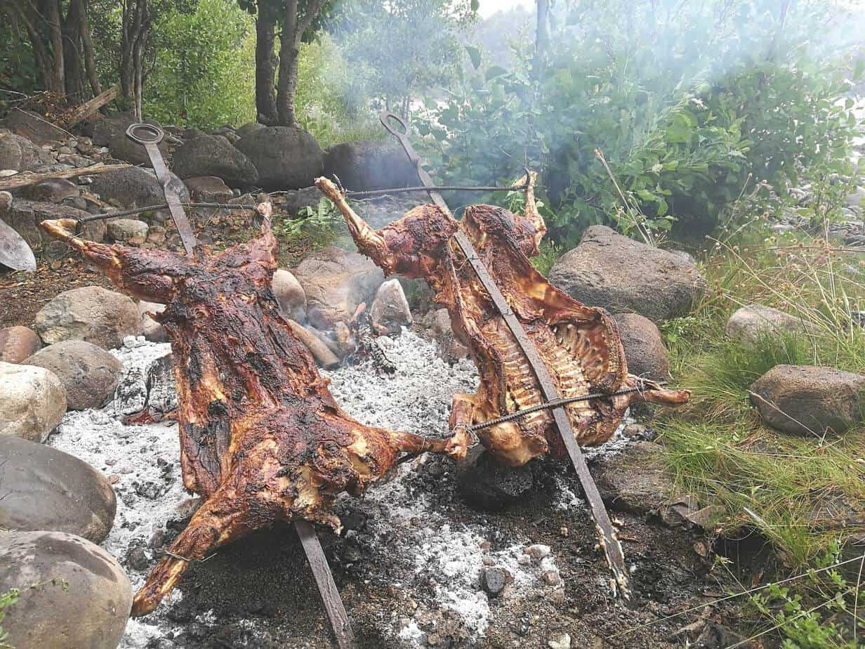 comidas de la patagonia