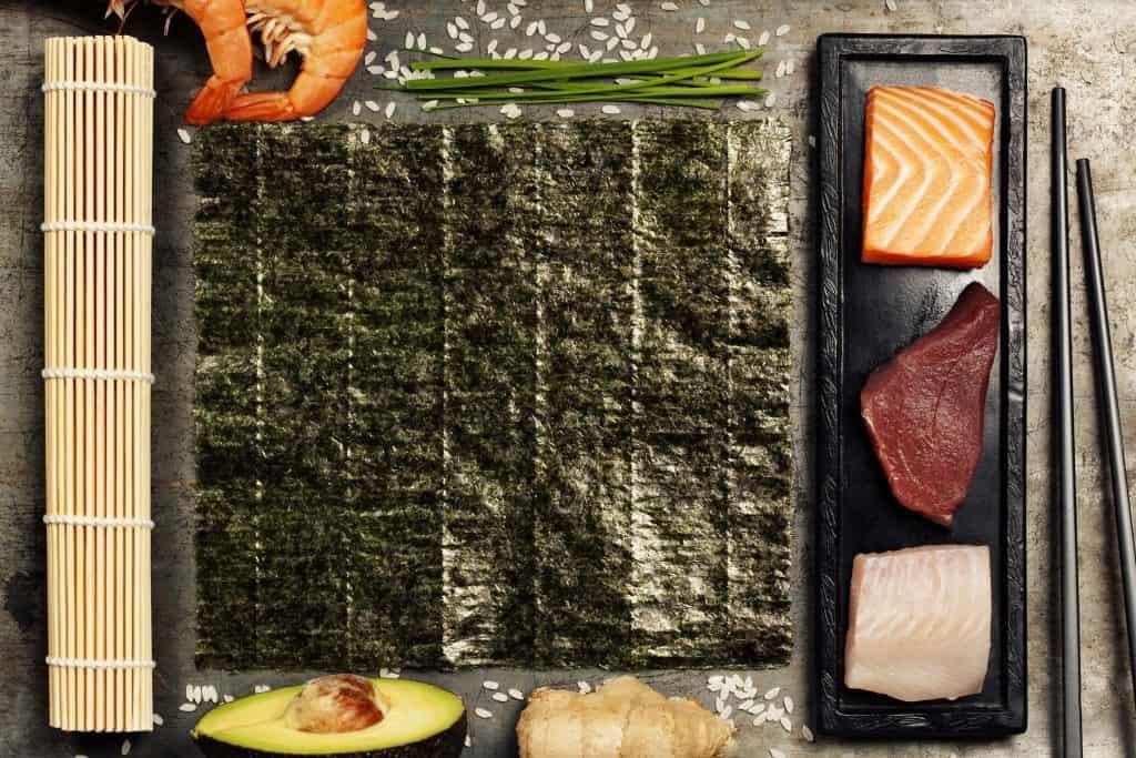 ingredientes de sushi