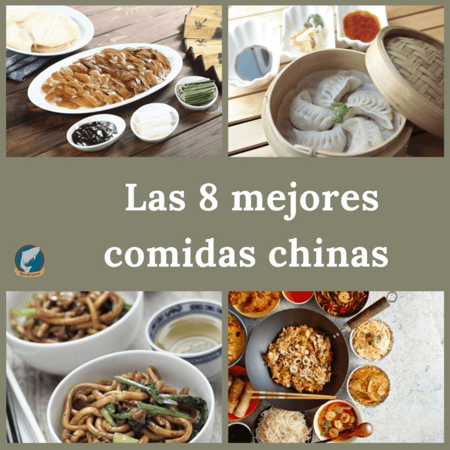Las 8 mejores comidas chinas