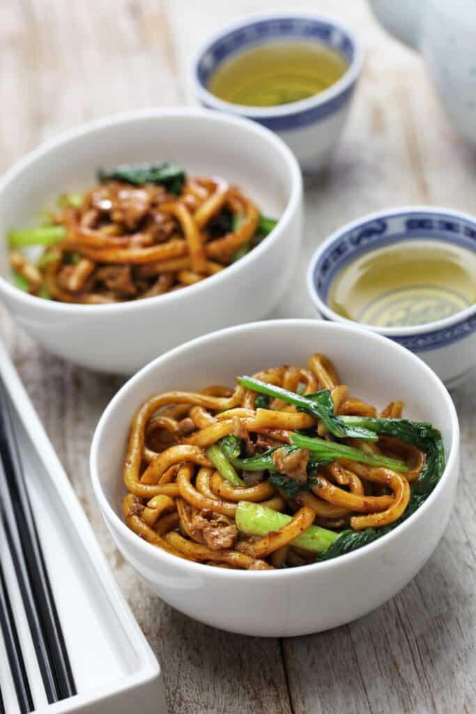 Chow Mein comida china