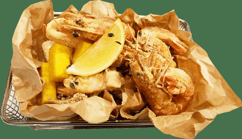 tempura camarón