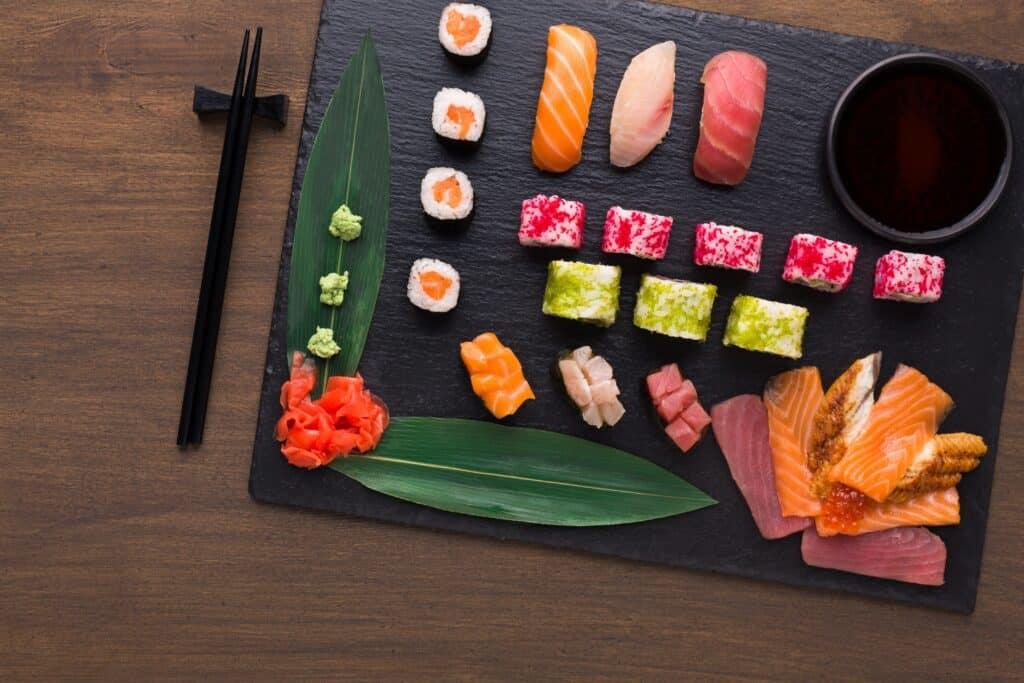 reglas de sushi para principiantes