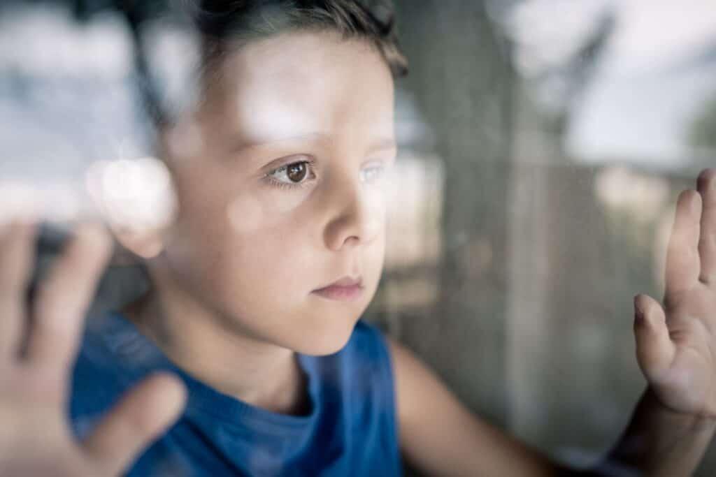 niños con estrés