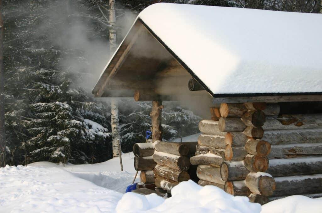 Cabaña de Sauna Sueco