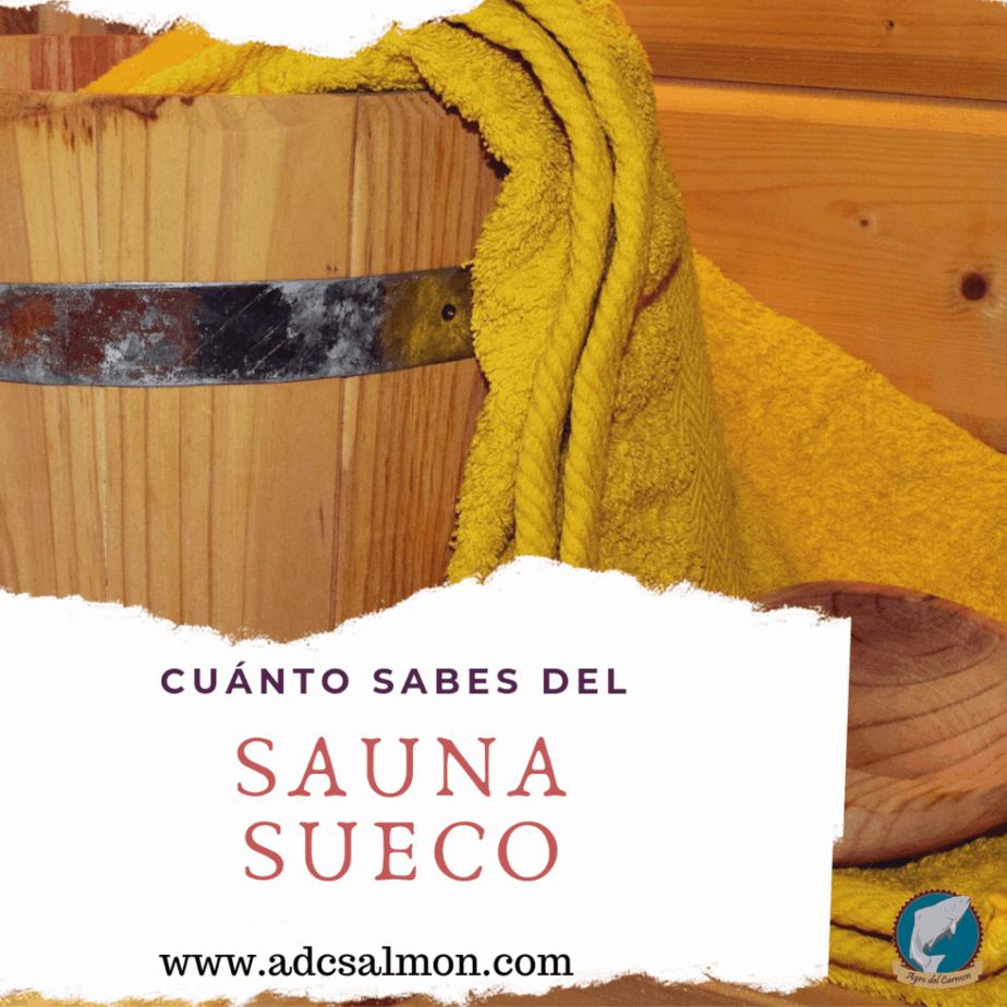 La etiqueta del sauna sueco