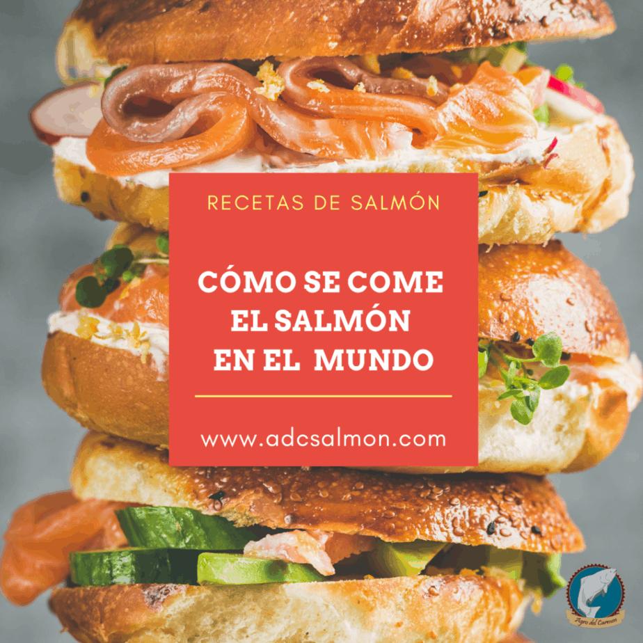Recetas de salmón en el mundo